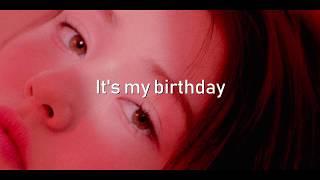 SOMI (전소미)  - 'BIRTHDAY' | Eng Lyrics