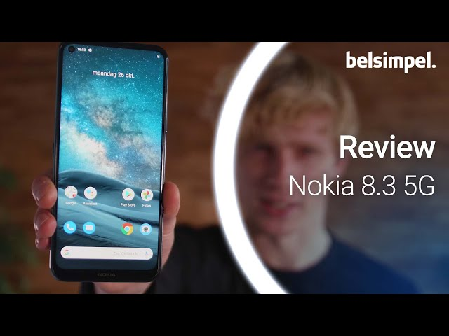 Belsimpel-productvideo voor de Nokia 8.3 5G 64GB Blue