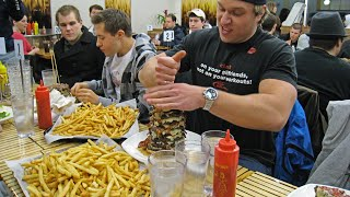 Eagle's Deli Burger Challenge - (12lbs of Food, 15,000+ Calories) | Furious Pete