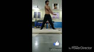 7 minute cardio for fat loss and stretching #gymnastics #fitness #aerobics
