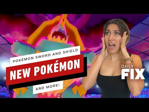 New Details for Pokemon Sword and Shield - IGN Daily Fix
