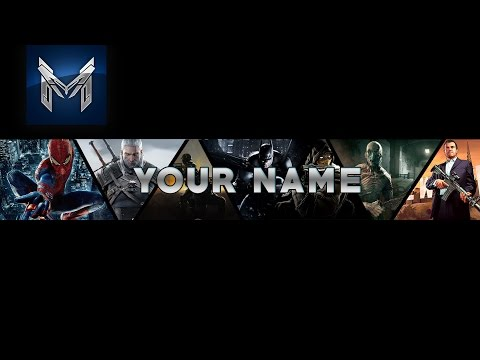 Youtube Gaming Banner Template Photoshop│Free Download ...