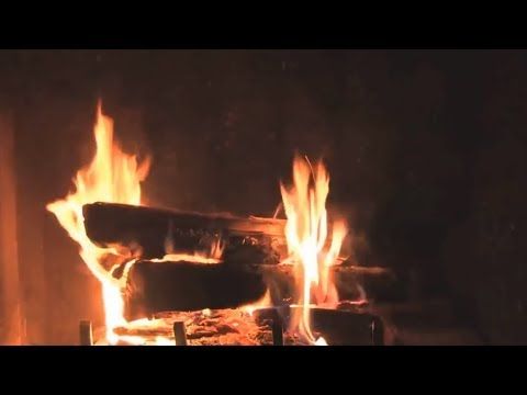 Crackling Fireplace Video