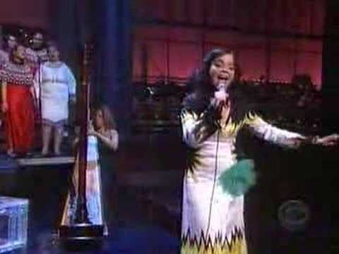 Björk - Pagan Poetry live on Letterman show
