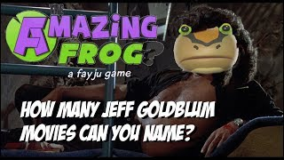 Amazing Frog?: Drone day 1: How many Jeff Goldblum movies can you name?