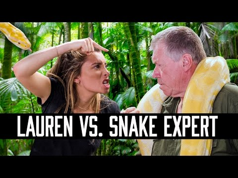IS LAUREN ELIZABETH SMARTER THAN A SNAKE EXPERT |  HOW SMART IS LAUREN ELIZABETH