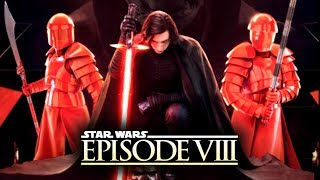 Star Wars Episode 8: The Last Jedi - New Details! LEAKED Images of Kylo Ren, Guards, and Snoke!