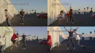 Sony A7s vs GH4 vs C100 vs Mark III (!!!) Camera Shootout - Episode II - Slow Motion