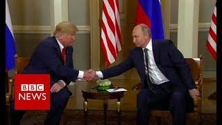 Russian ambassadors react to Trump remarks at Helsinki summit - BBC News