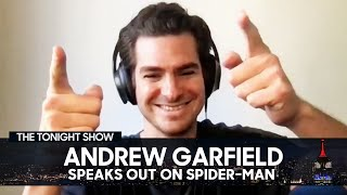 Andrew Garfield Speaks Out on Spider-Man: No Way Home Rumors   The Tonight Show