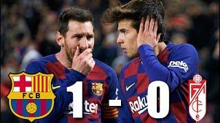 Barcelona vs Granada [1-0], La Liga 2020 - MATCH REVIEW