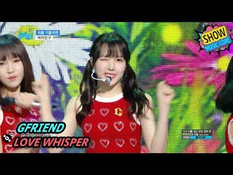 [HOT] GFRIEND - LOVE WHISPER, 여자친구 - 귀를 기울이면 Show Music core 20170812