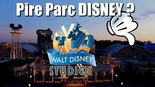 Pourquoi le parc Walt Disney Studios est considéré comme le pire parc Disney ?