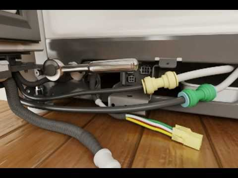 Whirlpool Refrigerator Door Removal Amp Replacement Youtube