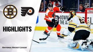 NHL Highlights | Bruins @ Flyers 3/10/20