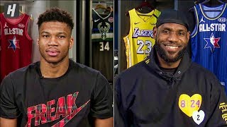 2020 NBA All-Star Draft - Team LeBron vs Team Giannis