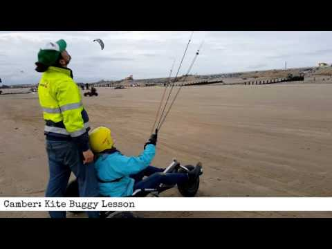 East Sussex: Kite Buggy Lesson (60 Second Product Review)