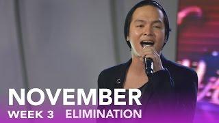 "ASOP 6: Sam Mangubat performs ""Christ""   Week 3 November"