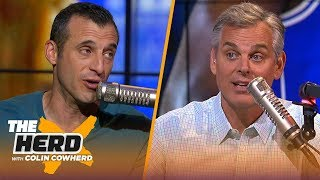 Doug Gottlieb on Warriors without KD in Game 1, says Zion is perfect for 'new' NBA | NBA | THE HERD