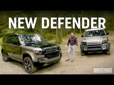 Richard Hammond reveals the new Land Rover Defender