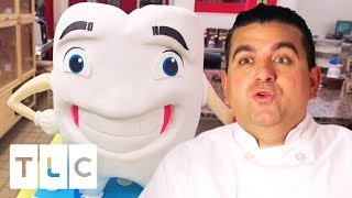 A Big Goofy Tooth Cake! | Cake Boss