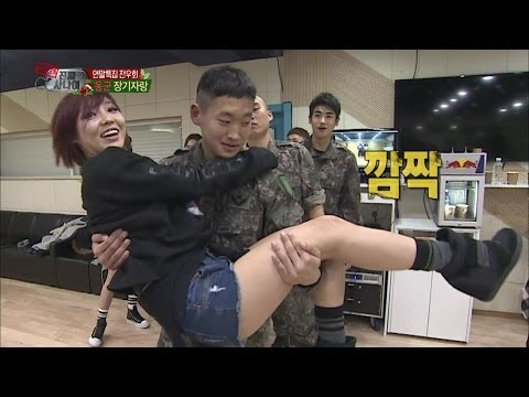 【TVPP】Miss A - Choreography Practice with A Real Man, 미쓰에이 - 장기자랑 연습 @ A Real Man