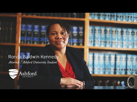 Ronda Baldwin-Kennedy is named Ashford University's Outstanding Alum of the Month.