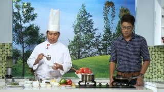 Cá hồi xốt chua ngọt và khoai mỡ nghiền - Thành Phố Hôm Nay [HTV9 – 26.10.2014]