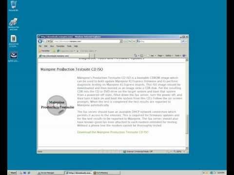 IQ Express Firmware Check
