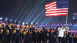 Team USA Dances Into Olympics 'Gangnam Style'
