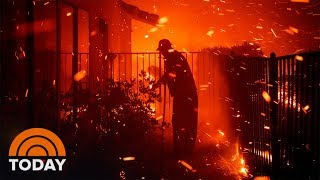 Wildfires In Southern California Force Over 100,000 Evacuations   TODAY