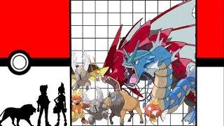 Pokemon Size Comparison