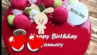 17 January 2019 Happy Birthday Status || Birthday WhatsApp status wishes Greetings Quotes Song