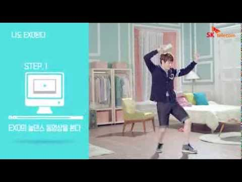 EXO - SKT LTE ads (game details) [HD] Suho Luhan Lay