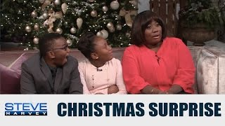 The Holiday surprise they never saw coming    STEVE HARVEY