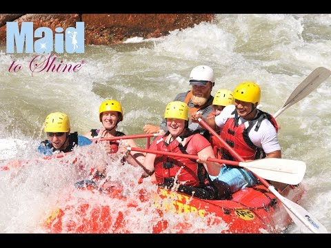 Maid to Shine Team Event - White Water Rafting