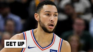 Ben Simmons sprains right shoulder against the Jazz | Get Up