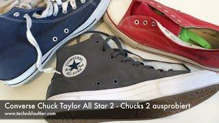 0a72e30082b65 Converse Chuck Taylor All Star 2 - Chucks 2 ausprobiert
