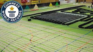 Epic domino show - Guinness World Records