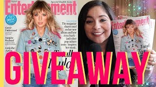 Taylor Swift Entertainment Weekly Magazine GIVEAWAY (CLOSED)!