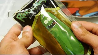Pickle Rick Pickle In A Pouch Taste Test Review. [Rick & Morty X  Sir Sebastian]