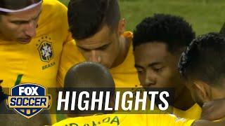 Brazil vs. Peru | 2016 Copa America Highlights