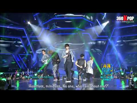 [Vietsub] EXO M - Two Moons + History + Talk + MAMA @ 121231 Jiangsu Countdown [360Kpop]