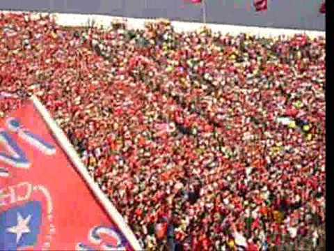 Himno Chileno-estadio nacional-chile v/s  peru