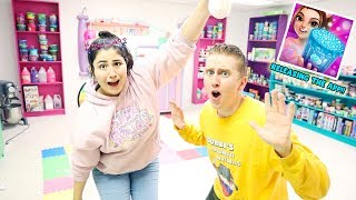 GIANT LIFE SIZE SLIME BOARD GAME CHALLENGE ~ Slimeatory #576