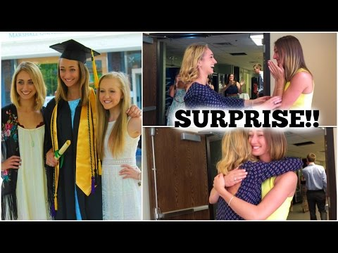 {Vlog} Surprising My Sister at her Graduation!