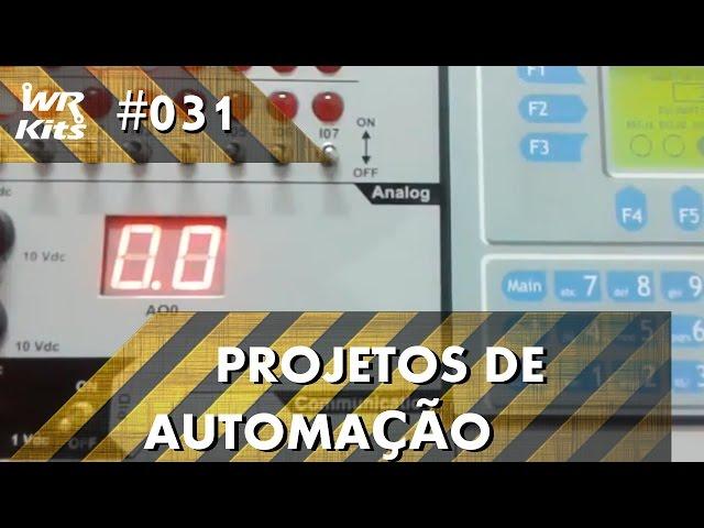 SENSOR DE FIM DE CURSO PARA MÁQUINA X-Y COM CLP ALTUS DUO | Projetos de Automação #031