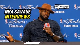 SAVAGE LEVEL 100% NBA INTERVIEWS EDITION 2017