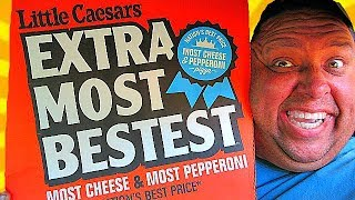 Little Caesars $6 'EXTRAMOSTBESTEST'™ Pizza Review!