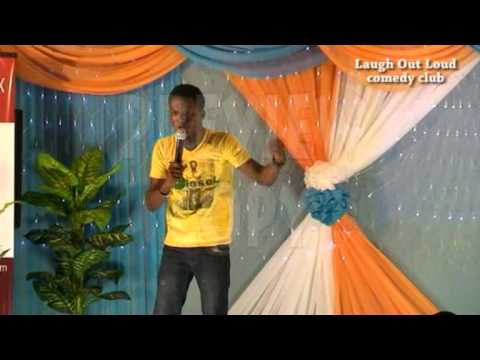 MC Above at Laugh Out Loud Comedy Club Lagos Nigeria